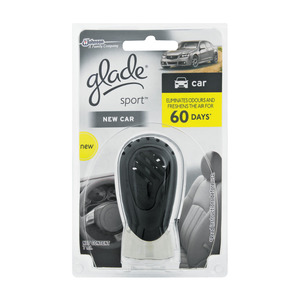 Glade Car Freshener New Car 7ml