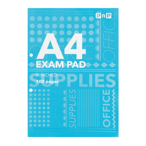 PnP Exam Pad A4 punched 100pg
