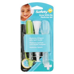 Safety First 3 Piece Medicine Set