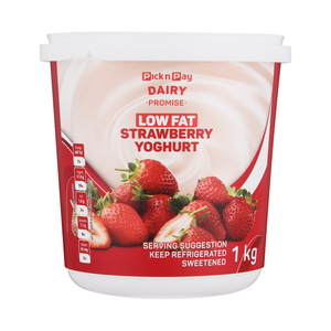 PnP Low Fat Strawberry Yoghurt 1kg