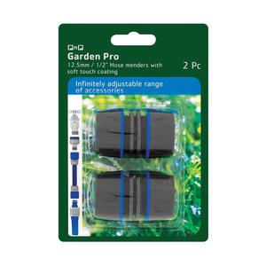 Garden Pro 12.5mm Hose Mender 2pc
