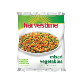 Harvestime Mixed Frozen Vegetables 1kg