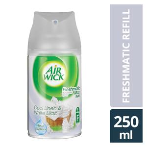 Airwick Freshmatic Refill Cool Linen & White Lilac 250ml