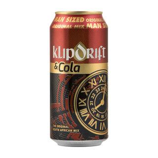 Klipdrift & Cola Can 440 ml  x 6
