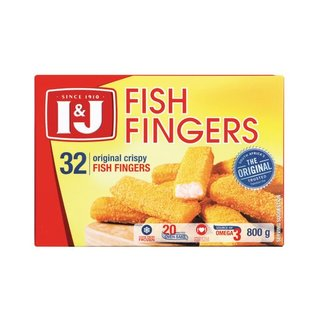 I&J Original Fish Fingers 800g x 12