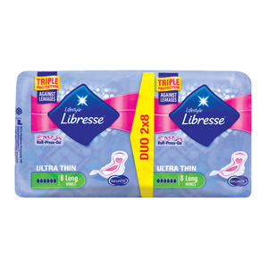 Libresse Ultra Pads Long Wing Duo 16ea