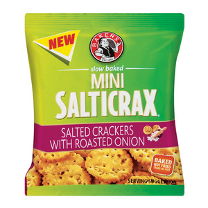 Bakers Salticrax Roasted Onion 33 Gr