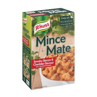 Knorr Mince Mate Smoky Bacon & Cheddar 230g x 16