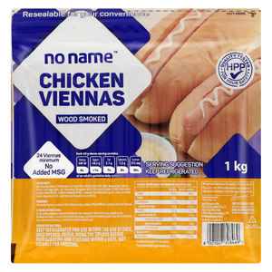 No Name Chicken Vienna 1 Kg