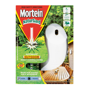 Mortein NatureGuard Dispensar & Insecticide Spray Outdoor