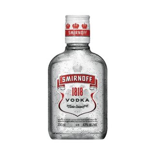 Smirnoff Vodka 1818 200ml x 12