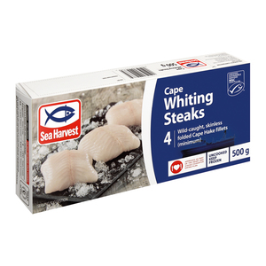 Sea Harvest Cape Whiting Steaks 500g