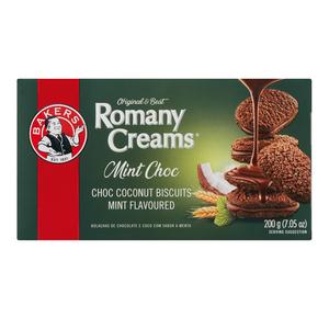 Bakers Mint Chocolate Romany  Creams 200g