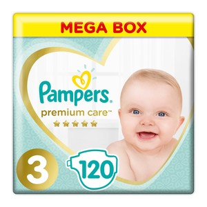 Pampers Premium Care Size 3 120ea