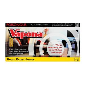 Vapona Room Exterminator Strip 73g