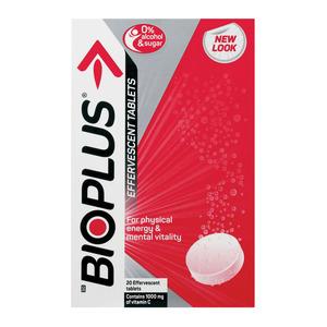 Bioplus Effervescent Tablets 20ea
