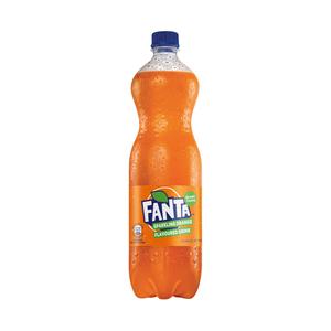Fanta Orange 1l Plastic Bottle