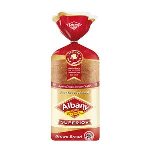 Albany Superior Standard Sli ced Brown Bread 700g