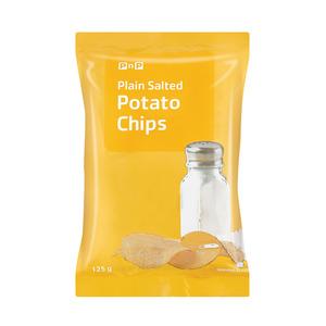 PnP Lightly Salted Chips 125g