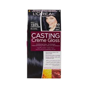 Casting Creme Gls Permanent Hair Colour 210 Blue Black