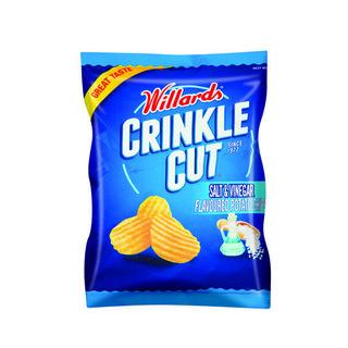 Willards Crinkles Sassy Salt&vin 30gr