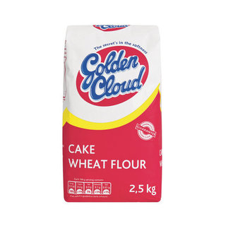 Golden Cloud Cake Flour 2.5kg x 8