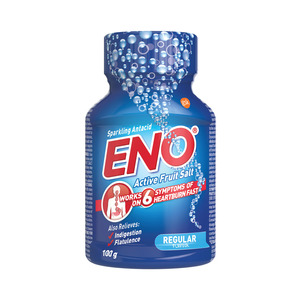 Eno Regular Flav Antacid Act Ive Fruit Salts 100 Gr