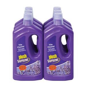 Plush Tile Cleaner Lavender 750 Ml x 6