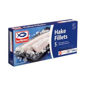 Sea Harvest Prime Hake Fillets 800g