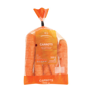 PnP Carrots Bag 500g