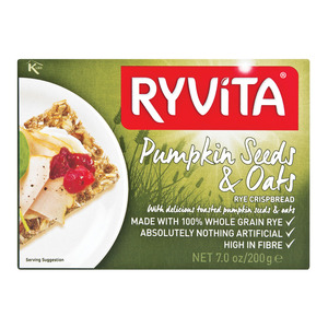Ryvita Cracker Pumpkin & Oats 200g