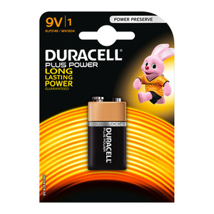 Duracell Batteries Power Plu s 9V