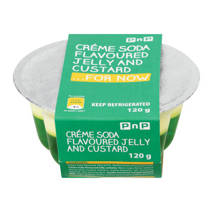 Pnp Cream Soda Jelly And Custard 120g