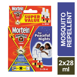 Mortein Electric Mosquito Repelant 30 Nghts Refill 2ea