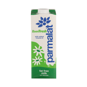 Everfresh Long Life Fat Free Milk 1l
