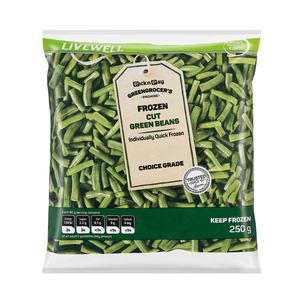 No Name Frozen Cut Green Beans 250g