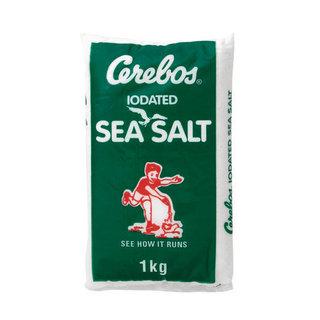 Cerebos Iodated Sea Salt 1kg x 20