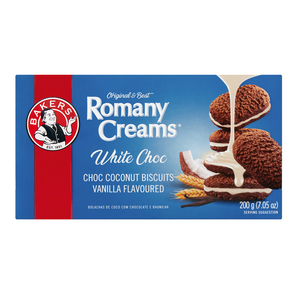 Bakers Romany Vanilla Chocol ate Biscuits 200g