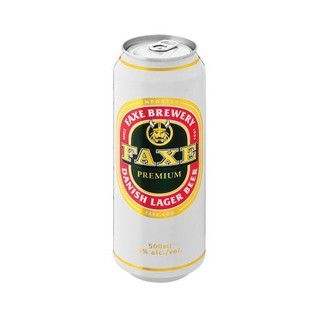 Faxe Premium Lager Beer 5% 500ml