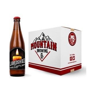 Mountain Brew Co Loadshed Lager 12 x 440 ml