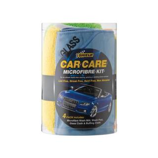 Shield Micro Fibre Car Care Kit