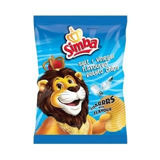 Simba Salt & Vinegar Chips 125g x 15