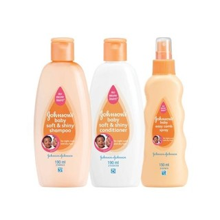 Johnson's Baby Soft & Shiny Shampoo 190m l