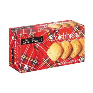 Da Vinci's Scotchbread Butter Cookies 20 0g