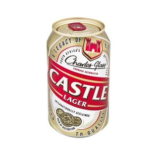 Castle Lager Beer Can 330ml