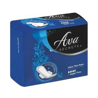 Ava Ultra Pads Night Unscent ed 7