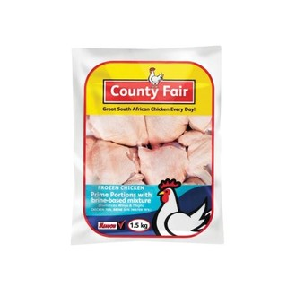 County Fair Mixed Chicken Po rtions 1.5 KG