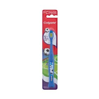 Colgate Kids Extra Soft Toothbrush For B Eginners With Non-slip Handle