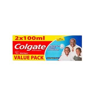 Colgate Regular Toothpaste Twinpack x 72