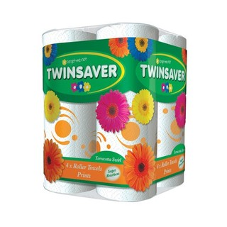 Twinsaver Terracotta Roller Towel 4ea x 6